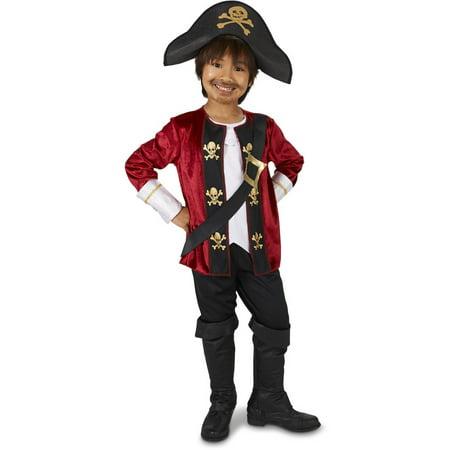 Captain Pirate Child Halloween Costume (Kids Pirates)