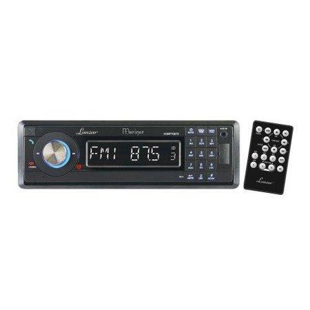 AM/FM-MPX In-Dash Marine Detachable Face Radio w/SD/MMC/USB Player & Bluetooth Wireless Technology
