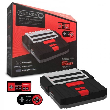 PlayStation Consola de RetroN 2 Hyperkin 2 en 1, negro + Generic en Veo y Compro
