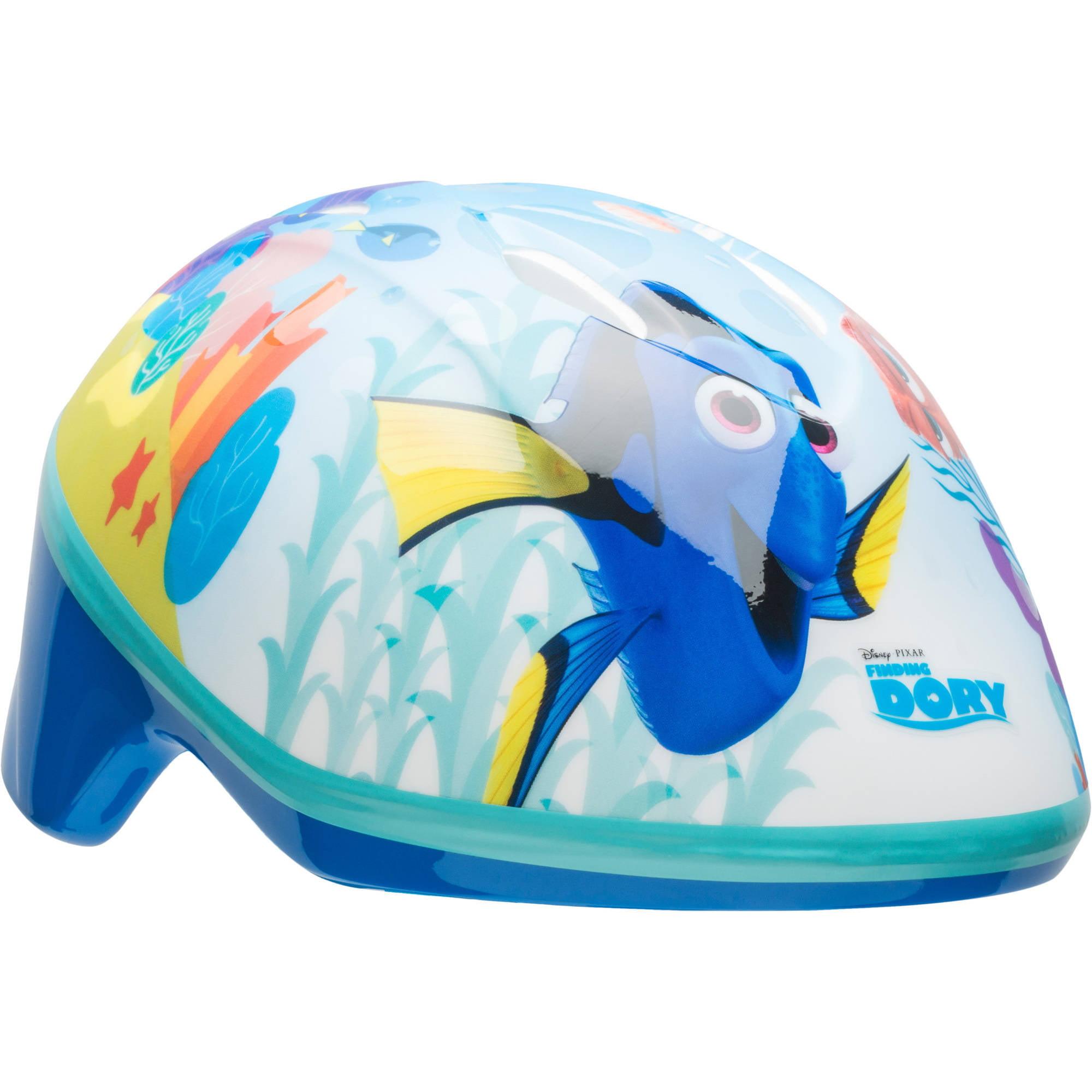 Bell Sports Disney Finding Dory Toddler Bike Helmet, Blue