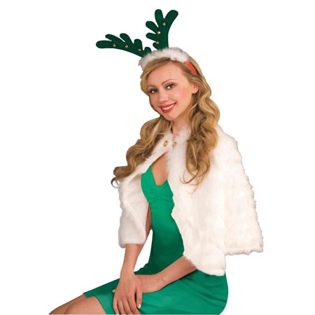 antlers with bells headband adult halloween accessory