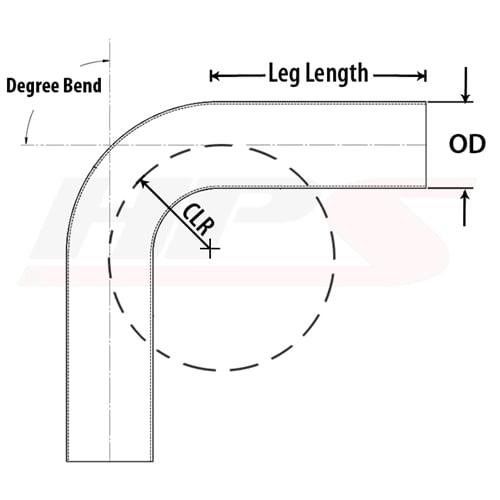 HPS 5//8 OD 6061 Aluminum Straight Pipe Tubing 17 Gauge x 2 Feet Long