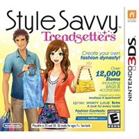Style Savvy: Trendsetters - Nintendo 3DS, Create Your Own Fashion Dynasty! Youve caught everyones eye with your cutting-edge style and bold fashion.., By by Nintendo