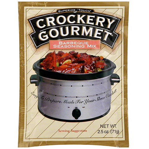 Superior Touch Crockery Gourmet Barbeque Seasoning Mix, 2.5 oz (Pack of 12)