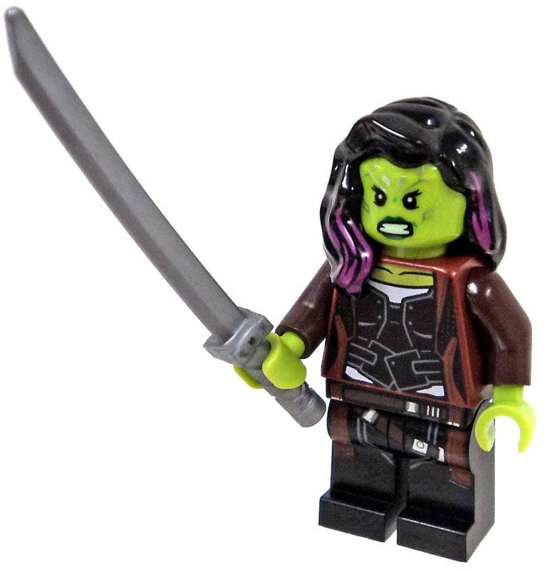 LEGO Marvel Avengers Infinity War Gamora Minifigure [No Packaging]