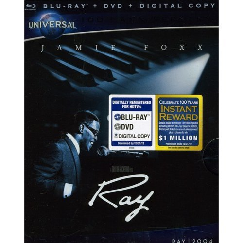 Ray (Universal 100th Anniversary Collector's Series) (Blu-ray + DVD + Digital Copy) (With INSTAWATCH) (Widescreen)