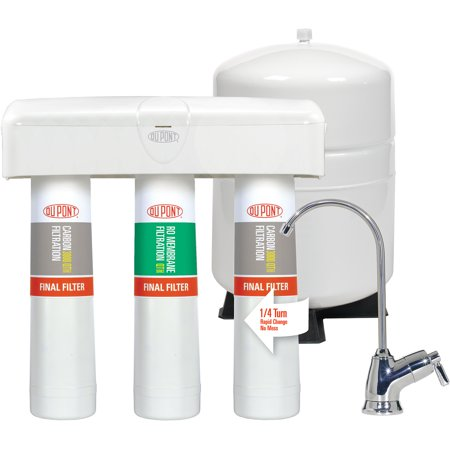 Dupont Quicktwist 3 Stage Reverse Osmosis Water Filtration