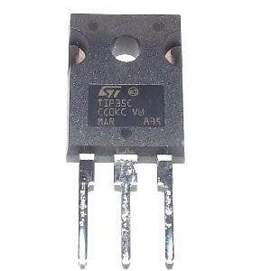 Pnp Switching Transistor (5 pcs TIP36C TIP36 Power Transistor PNP 25A 100V, TIP36C By Elec nano)