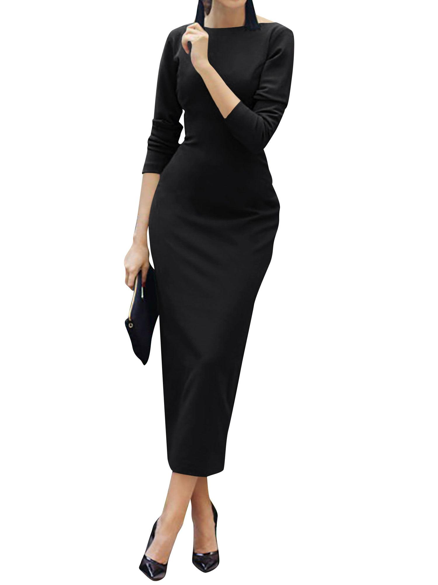 4781d761529 Long Sleeve Maxi Dress Walmart