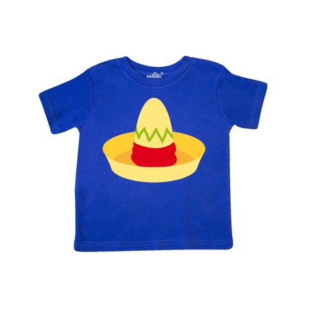 Cinco De Mayo Straw Sombrero Toddler T-Shirt - Straw Sombreros