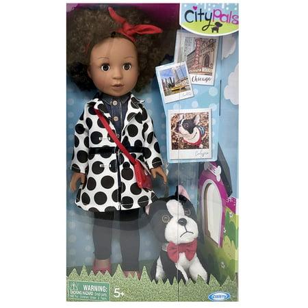 City Pals Doll Chicago Charlotte 14.5