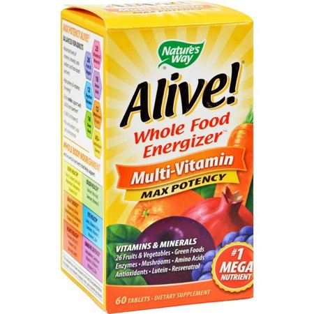 Natures Way Alive Multi Vitamin   60 Tablets
