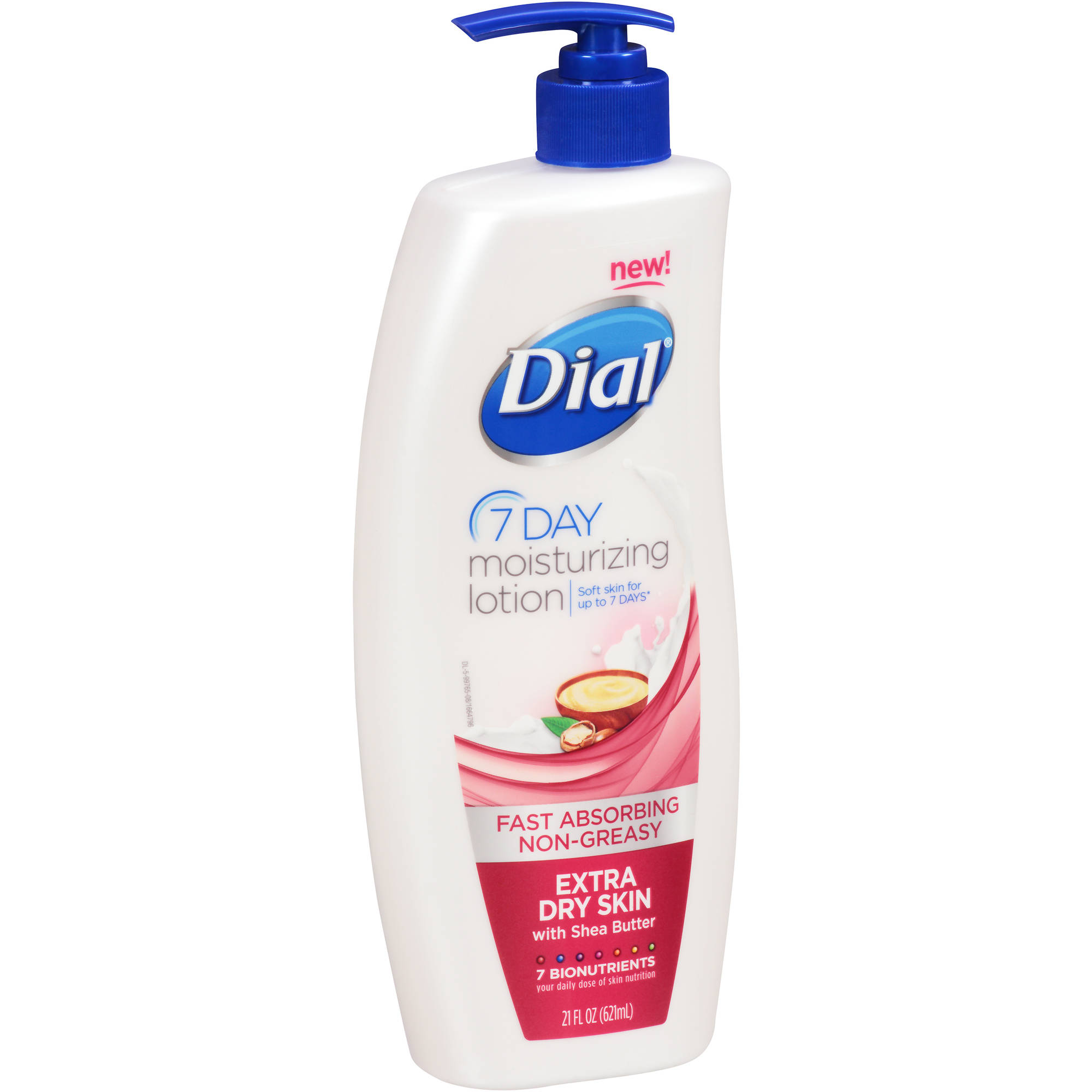 Dial Nutriskin Extra Dry Skin Lotion With Shea Butter, 21 oz
