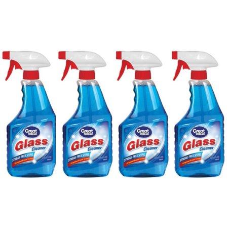 32 Oz Rtu Glass Cleaner - (4 Pack) Great Value Glass Cleaner, 32 oz