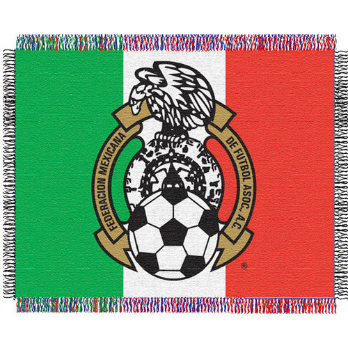 Mexico National Soccer 48x60 FIFA Triple Woven Jacquard Throw