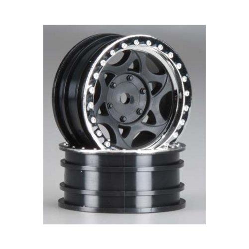 AX08140 1.9 Walker Evans Street Wheel Chrome/Black (2) Multi-Colored