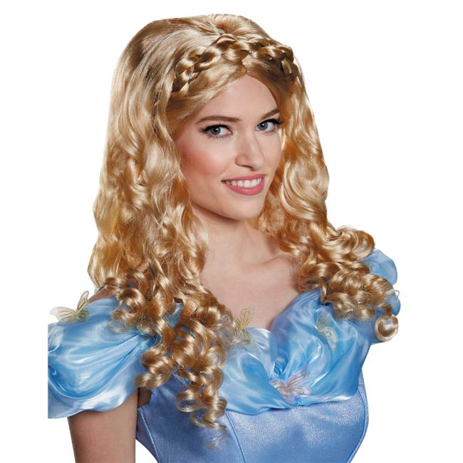 Morris Costumes DG87022AD Cinderella Movie Adult Wig Costume
