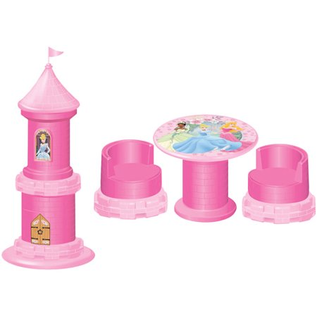 Disney Princess Castle Transforming Table And Chairs Set