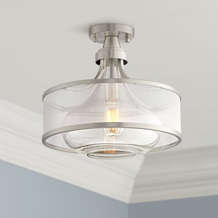 Silver Leaf Island Light (Possini Euro Design Possini Euro Layne 15