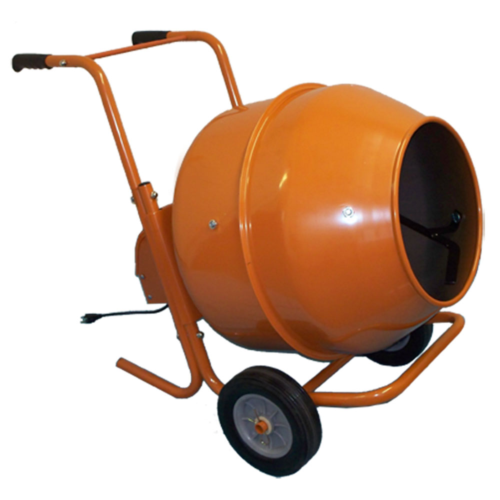8 Cubic Ft. Wheel Barrow Portable Cement Mixer Concrete Mixer by PROLINEMAX