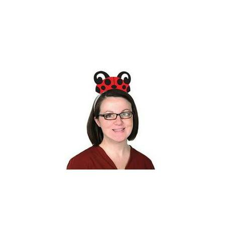 Printed Ladybug Tiaras (Ladybug Headband)