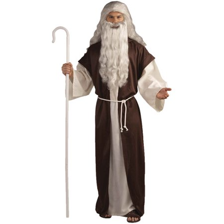 Shepherd Adult Halloween Costume - One Size Up to 42 - Pageant Robes