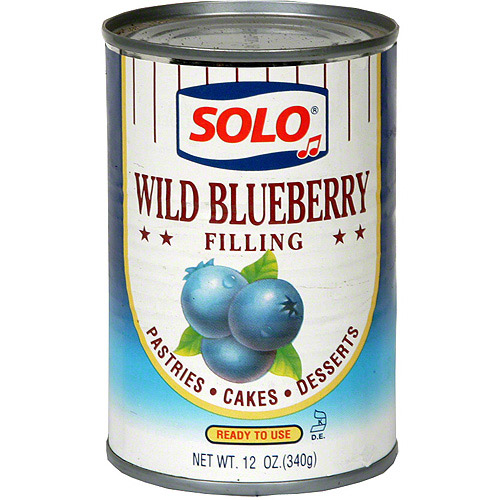 Wild Blueberry Filling, 12 oz (Pack of 12)