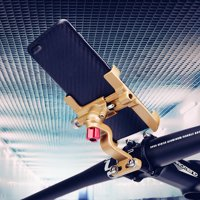 5*3*2.7 inch 360° Phone Holder Aluminum Alloy Bracket Mount Stand for GPS Suitable for Motorcycle Bicycle