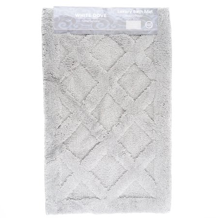 Classic Value Luxury Bathroom Rug Bath Mat, 100% Microfiber, Non-Slip Latex Backing - Machine Washable - 20