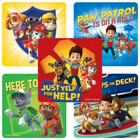 PAW Patrol Stickers - Birthday and Theme Party Supplies - 100 Per Pack, Paw patrol stickers - birthday and theme party supplies - 100 per pack. By SmileMakers](Paw Patrol Themed Party)