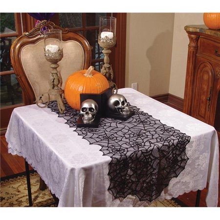 Lace Spider Web Table Runner Costume