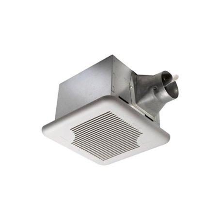 - Delta SIG110 BreezSignature Bath Fan; 4 Inch Duct, Ceiling Mount, 110 cfm At
