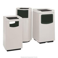Trash Garbage Waste Container Stationary - 47 Gallon