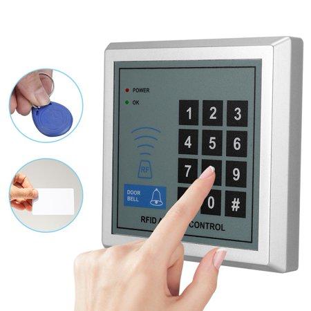 WALFRONT Door Access Control, Access Control System,125KHz Door Lock Access Control System with 10pcs RFID Cards Home Security (Access Control System)