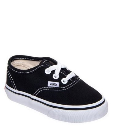 Vans Unisex AUTHENTIC Sneakers, Black, 4.5 M US Toddler