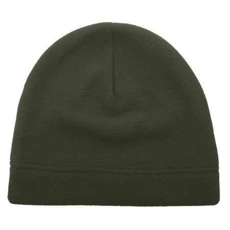 (Price/12PCS) Opromo Men's Fleece Hat Outdoor Military Tactical Skull Cap Beanie thumbnail