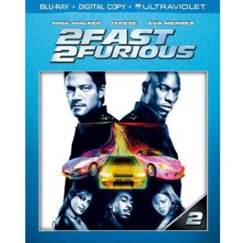 2 Fast 2 Furious (Blu-ray + Digital Copy) (With INSTAWATCH)