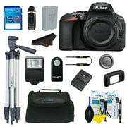 Nikon D5600 DSLR Digital Camera + Pixi Basic Bundle Kit