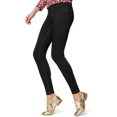 HUE Plus Size Essential Denim Leggings