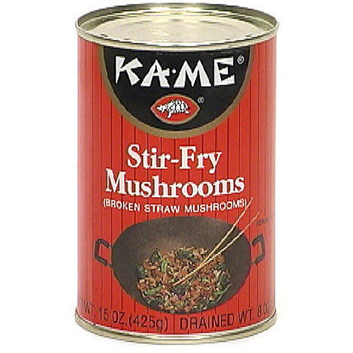 Ka-Me Stir-Fry Mushrooms, 15 oz (Pack of 12)