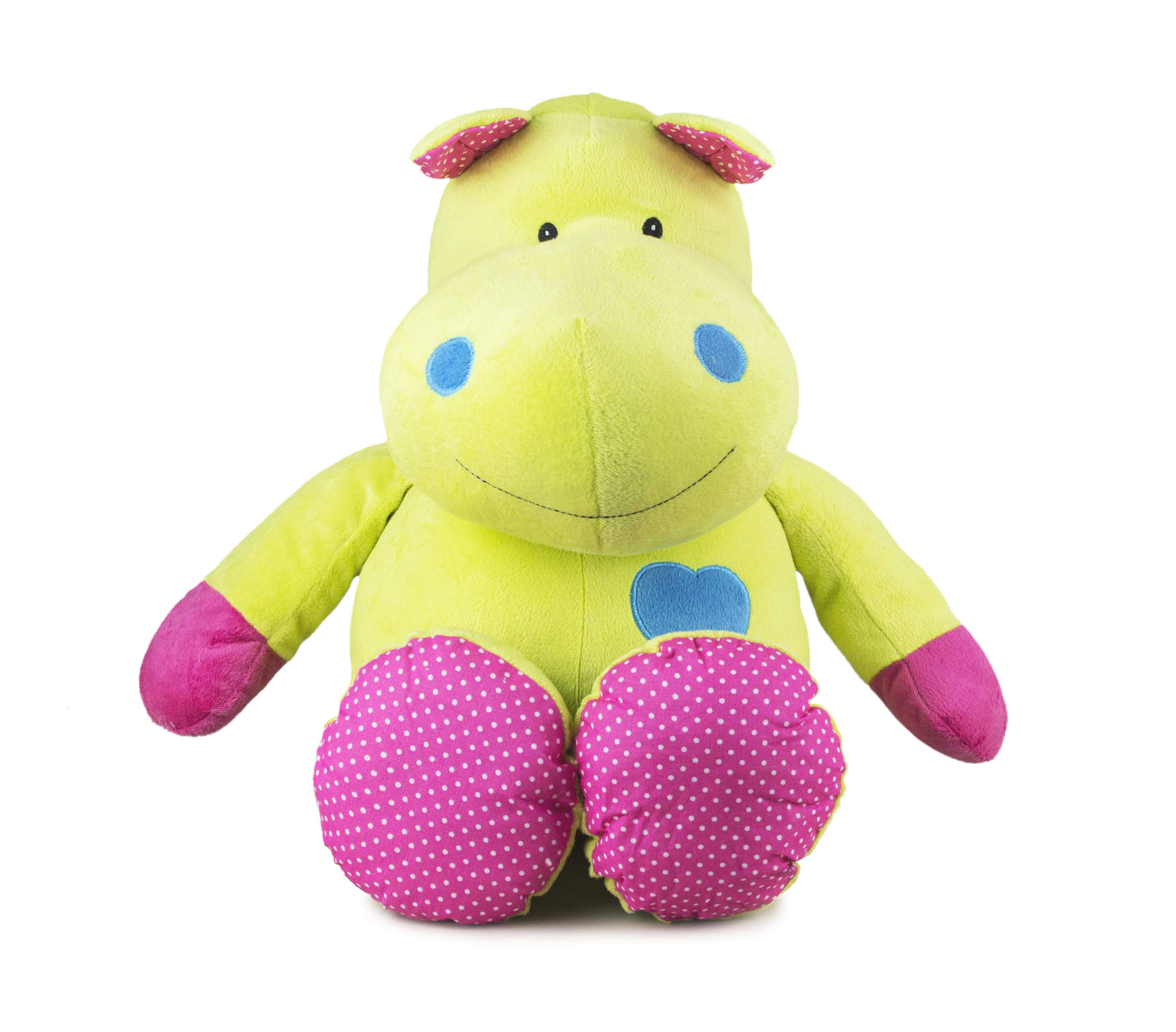 Beverly Hills Teddy Bear Company Bright Striped Hippo by