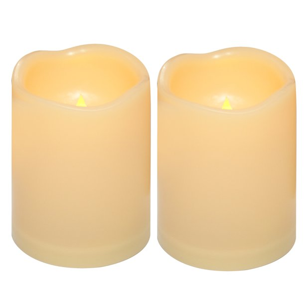 Waterproof Outdoor Flameless Led Candle, Outdoor Flameless Candles With Remote