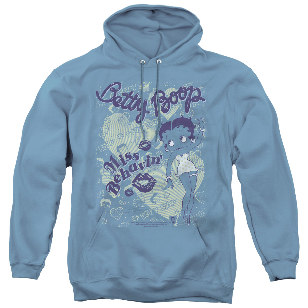 Betty Boop Team Boop Adult Pull-over Hoodie