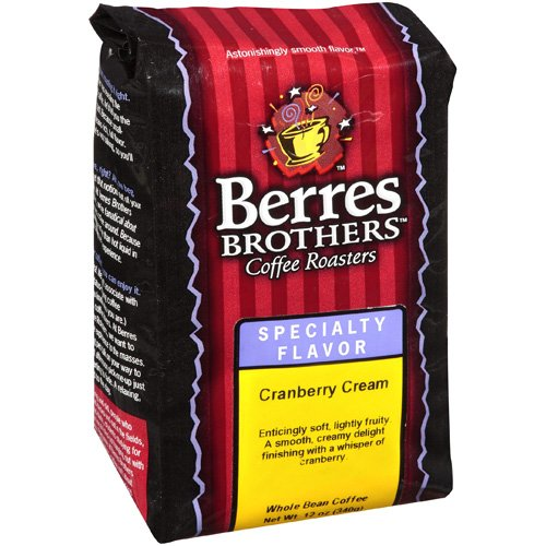 Berres Brothers Coffee Roasters Cranberry Cream Coffee Beans, 12 oz