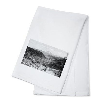 New Fork Short Spring (Glenwood Springs, Colorado - Traver Ranch View; Roaring Fork River Valley Photograph (100% Cotton Kitchen Towel) )