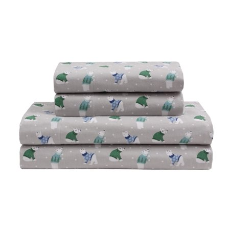 Winter Nights Flannel Sheet Set - Holiday Flannel Sheets