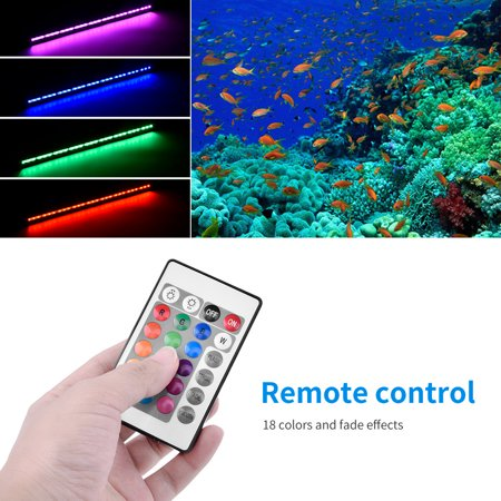 Aquarium color remote control gas light RGBwidely used in fish tanks r