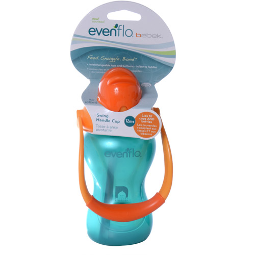Evenflo Bebek 8-oz Swing Handle Straw Cup, BPA-Free