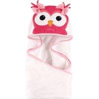 Hudson Baby Woven Terry Animal Hooded Towel, Cutesy Owl