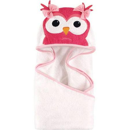 Owl Baby (Hudson Baby Woven Terry Animal Hooded Towel, Cutesy)